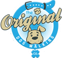 the original dog walking co. logo
